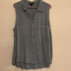 Button up tank